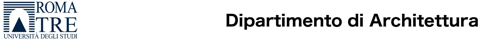 Logo di Dipartimento di Architettura